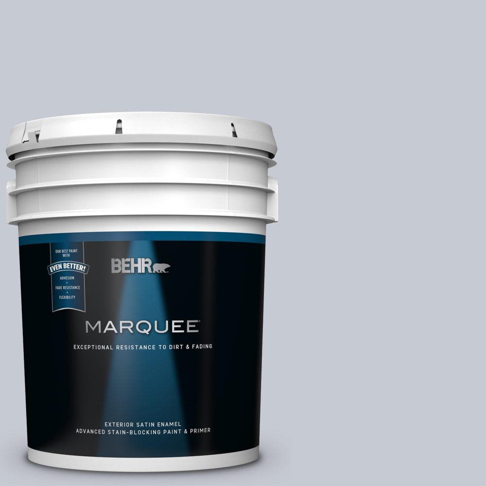 5 gal. #MQ5-18 Paparazzi Flash Satin Enamel Exterior Paint and Primer in One