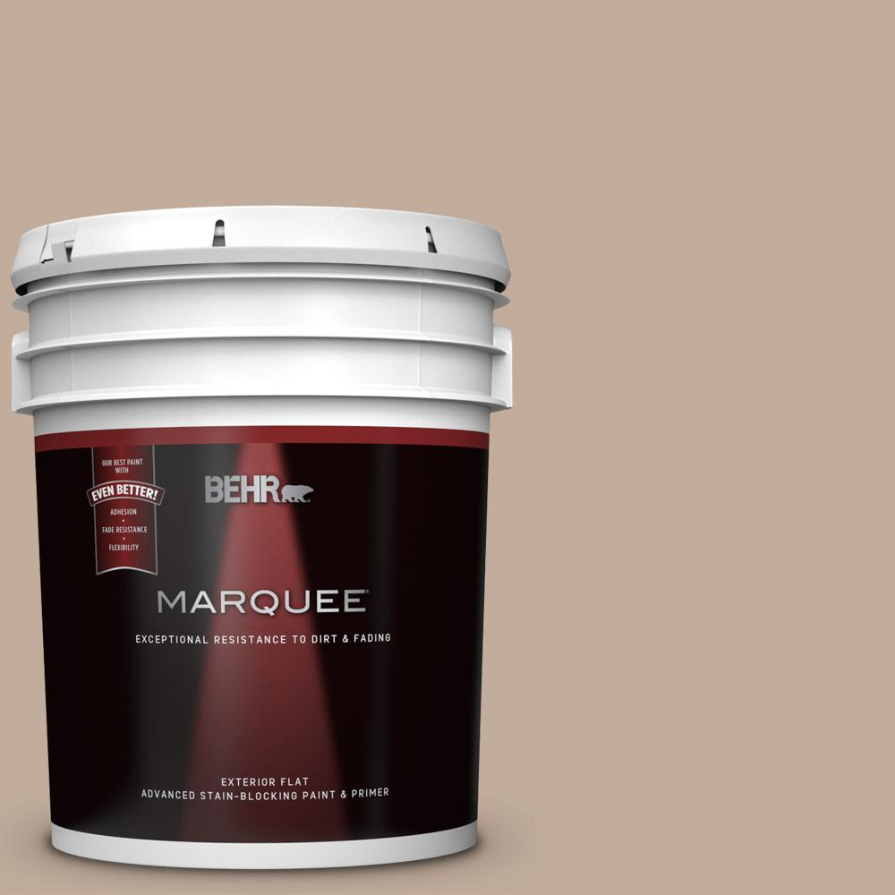 5 gal. #PWL-87 Fall Mood Flat Exterior Paint and Primer in One