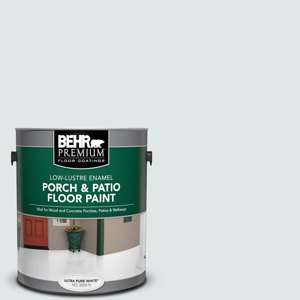 1 gal. #PPU13-17 Fresh Day Low-Lustre Enamel Interior/Exterior Porch and Patio Floor Paint