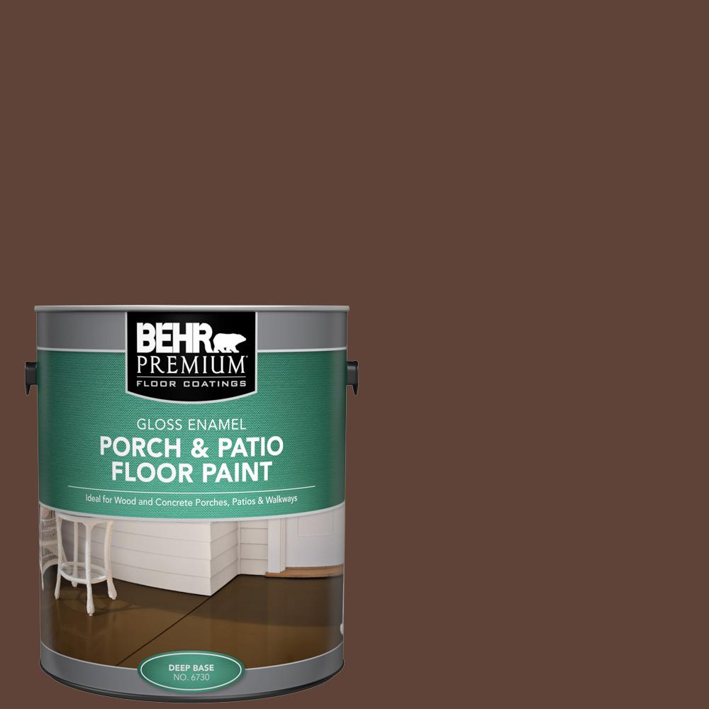 1 gal. #S-G-770 Wild Horse Gloss Enamel Interior/Exterior Porch and Patio Floor Paint