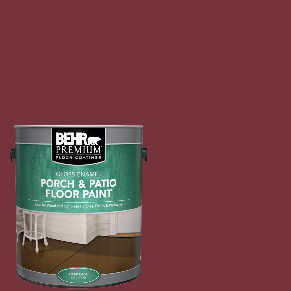 1 gal. #PFC-04 Tile Red Gloss Enamel Interior/Exterior Porch and Patio Floor Paint