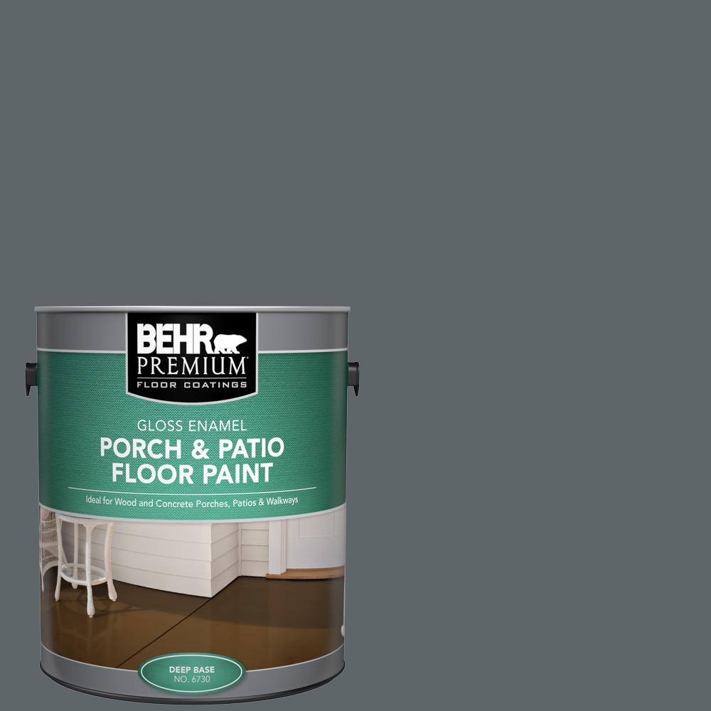 1 gal. #N450-6 Binary Star Gloss Enamel Interior/Exterior Porch and Patio Floor Paint
